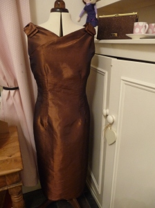 Chocolate Orange 21st Party dress