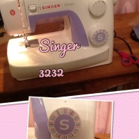 My new sewing machine! Singer 3232