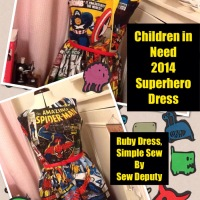 The Superhero dress