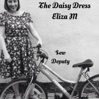 The Daisy Dress-White Tree Fabrics and Eliza M